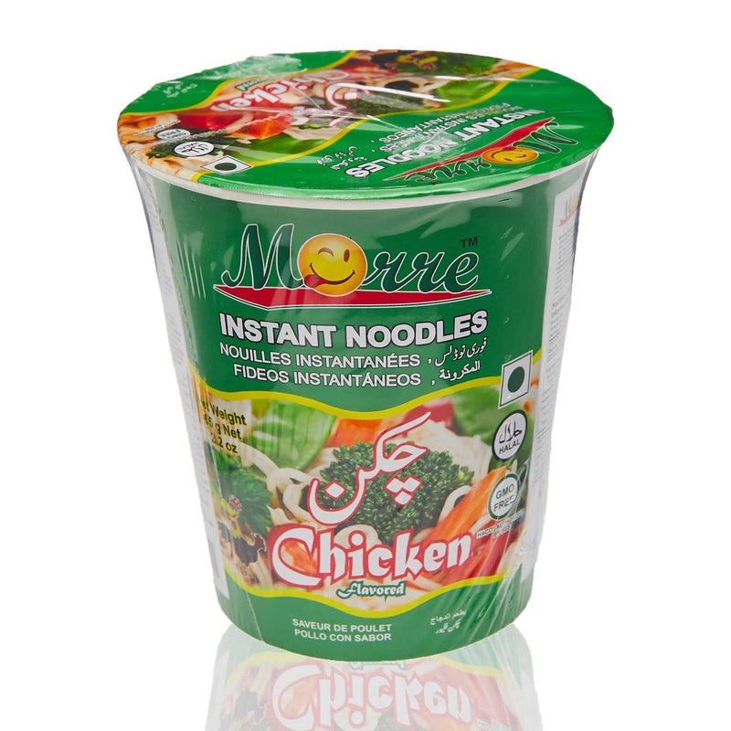 Moore Instant Halal Noodles with Chicken Flavor - Front