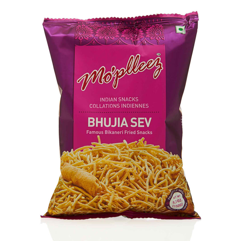 MoPlleez Bhujia Sev Snack - Front
