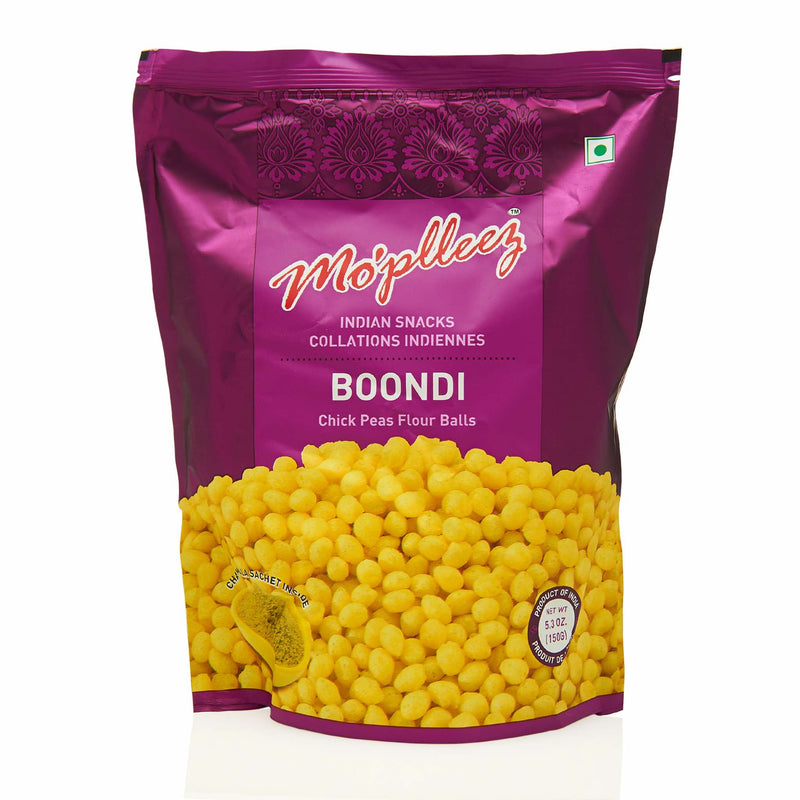 MoPlleez Boondi Snack - Front