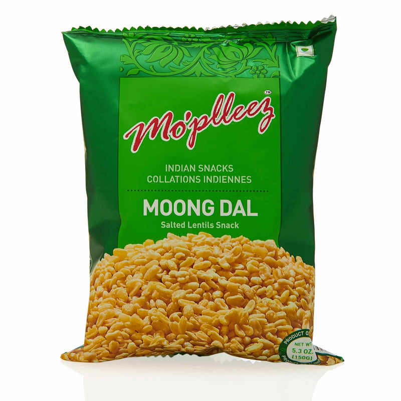 MoPlleez Moong Dal Snack - Front