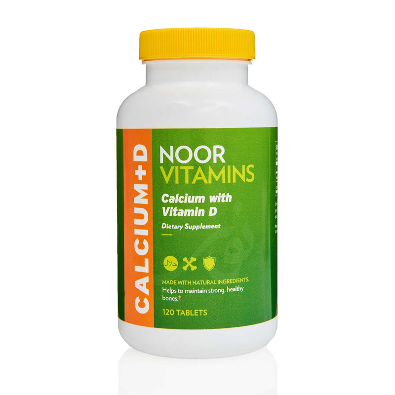Noor Vitamins Calcium with Vitamin D - Front