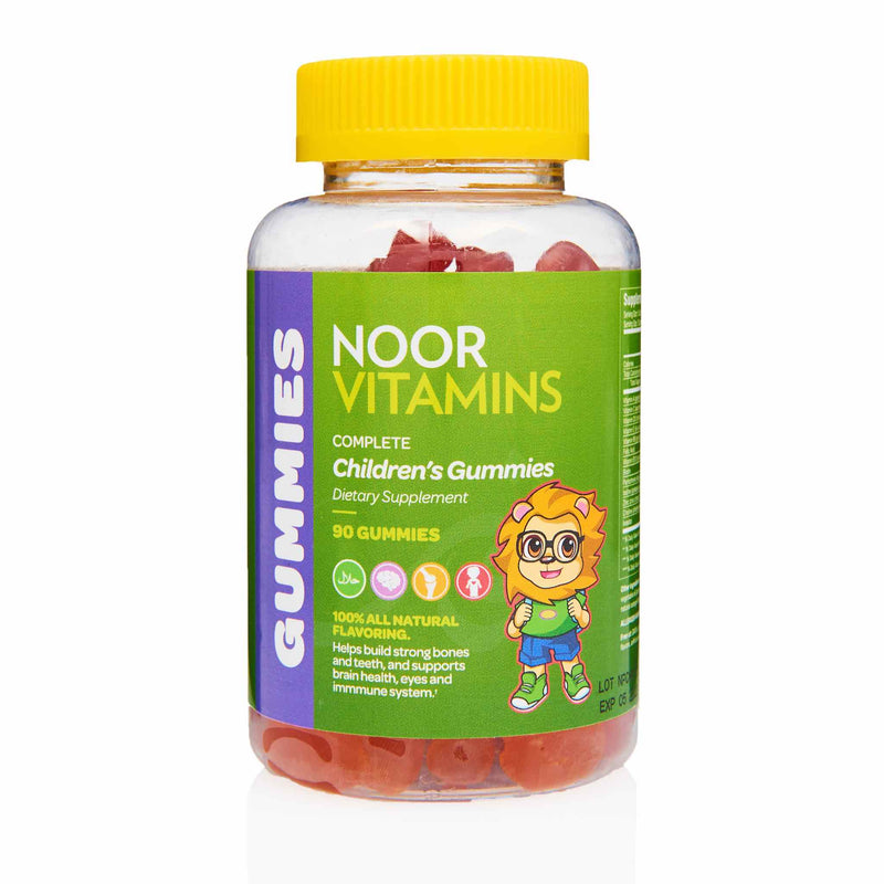 Noor Vitamins Children Gummies - Front