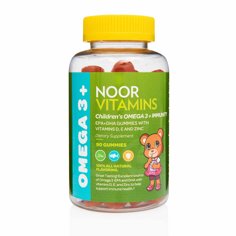 Noor Vitamins Childrem Omega 3 Gummies - Front