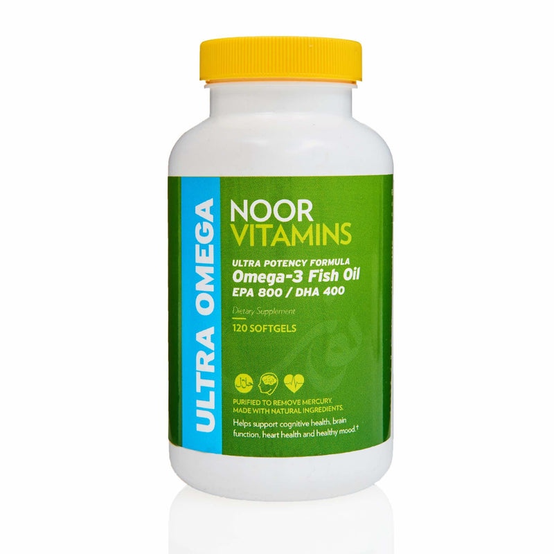 Noor Vitamins Omega 3 Fish Oil - Front