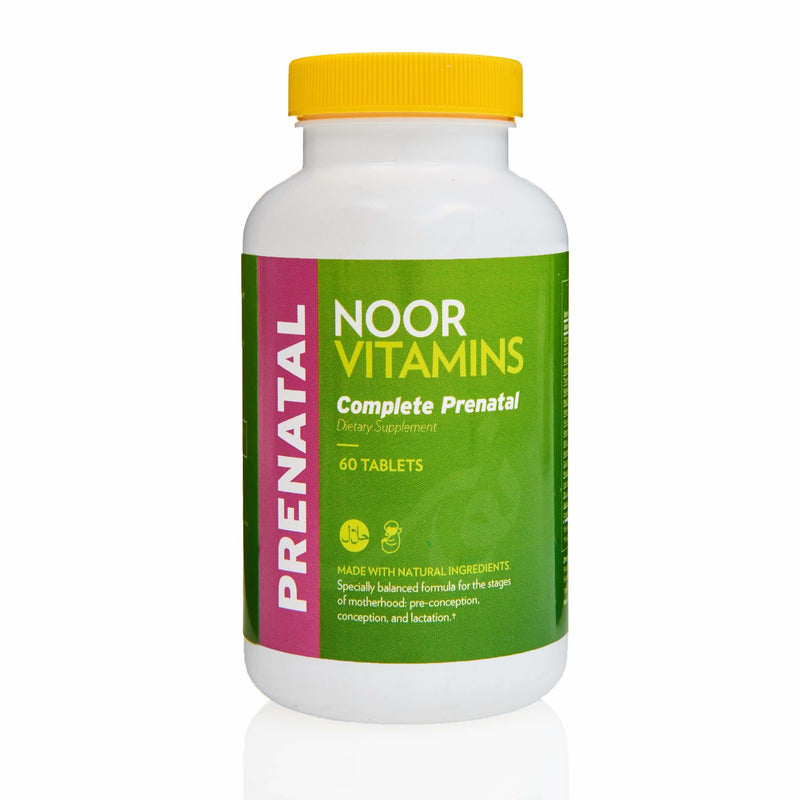Noor Vitamins Easy Swallow Prenatal - Front