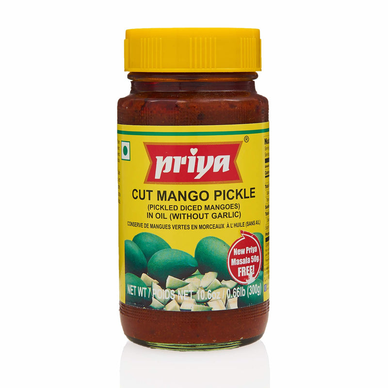 Priya Cut Mango Pickle - Front