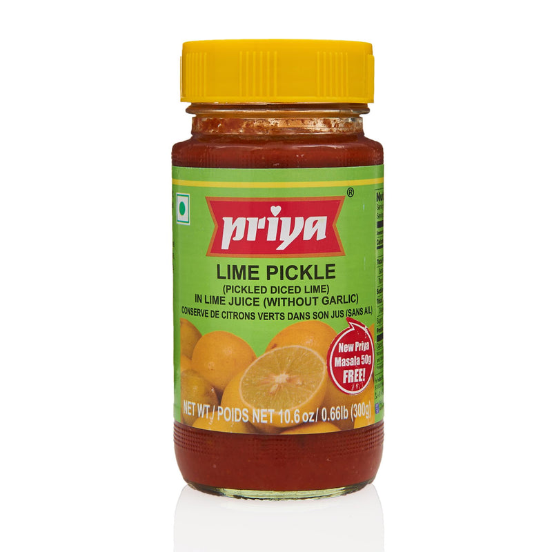 Priya Lime Pickle - Front