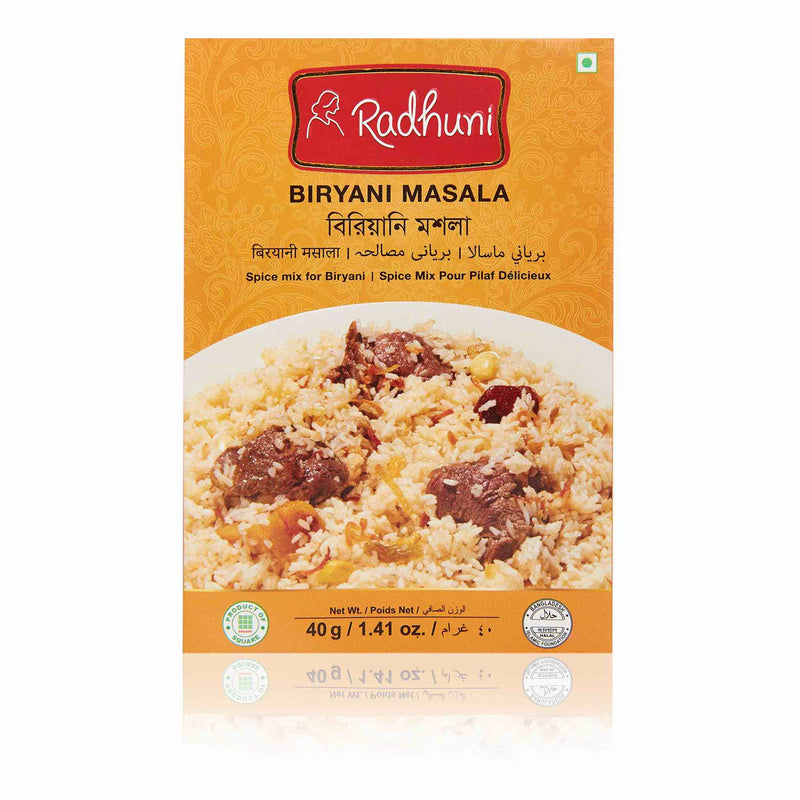 Radhuni Biryani Recipe Mix - Front