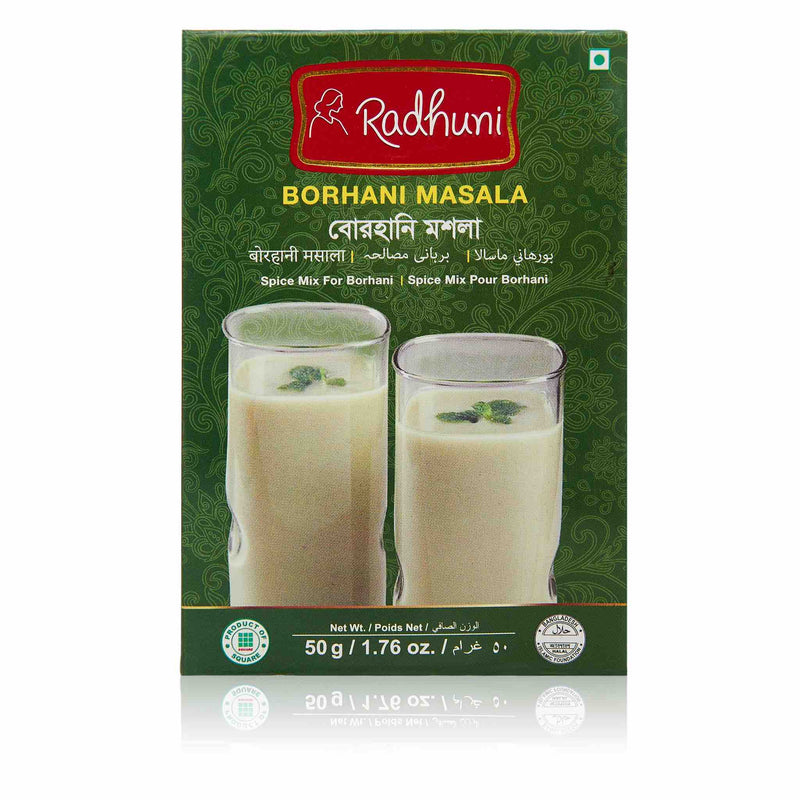 Radhuni Borhani Recipe Mix - Front