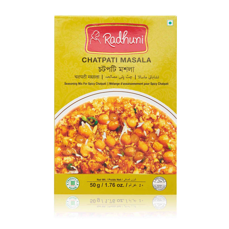 Radhuni Chatpati Masala Recipe Mix - Front