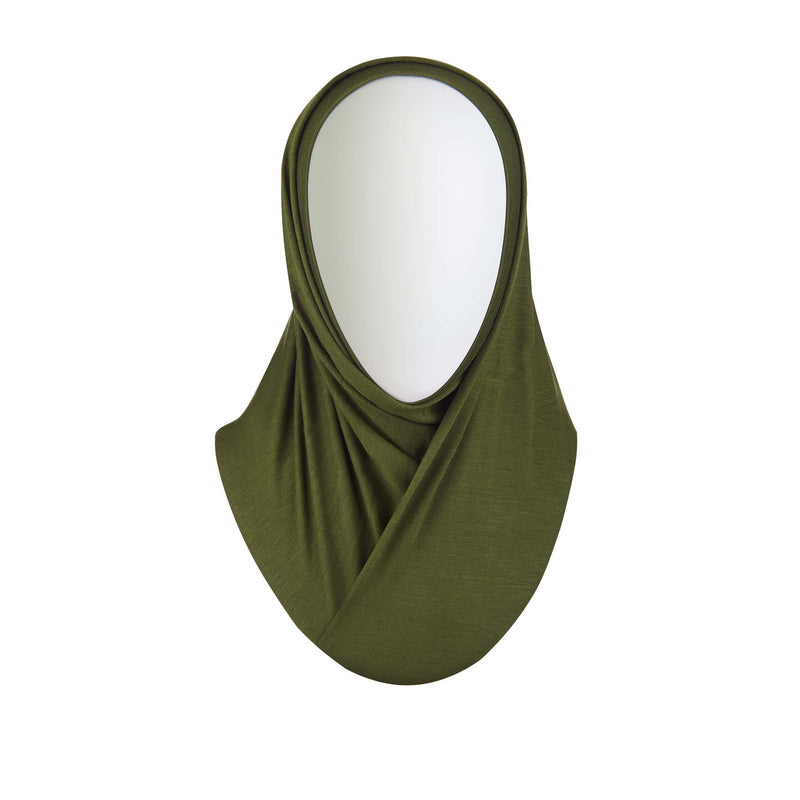 Green Ready to Wear Hijab - Regular