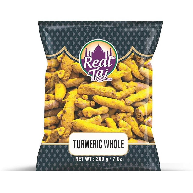 Real Taj Turmeric Whole