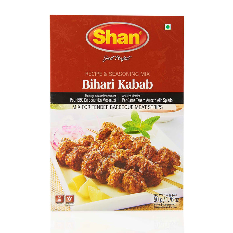 Shan Bihari Kabab Recipe Mix - Front