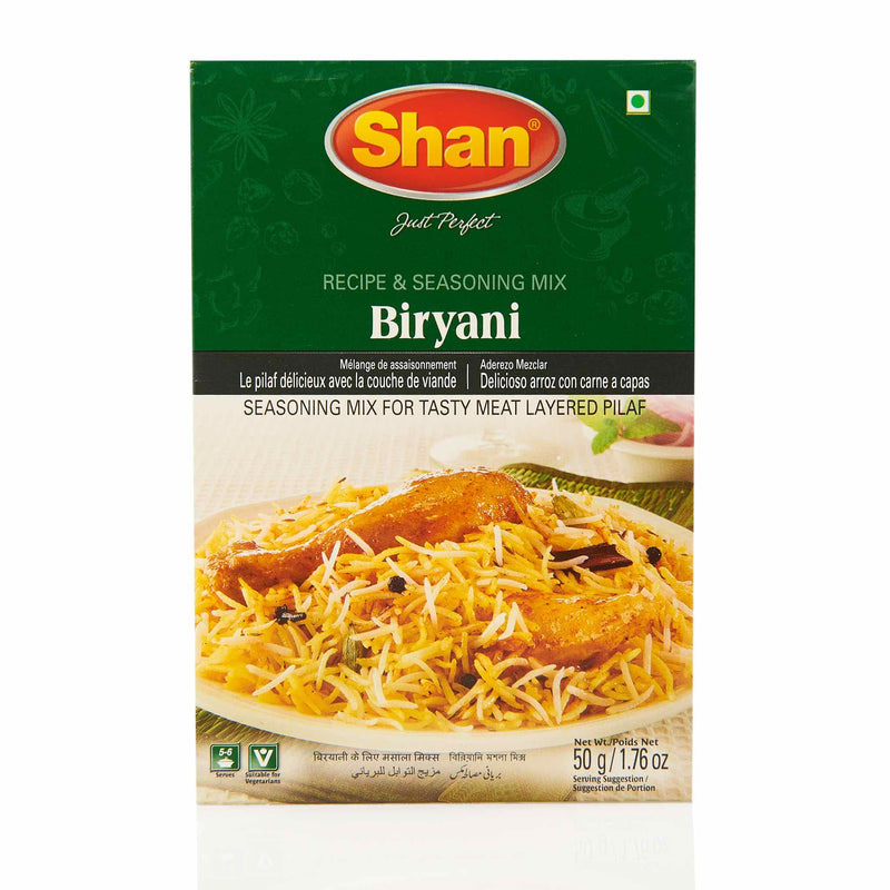 Shan Regular Biryani Recipe Mix - Front