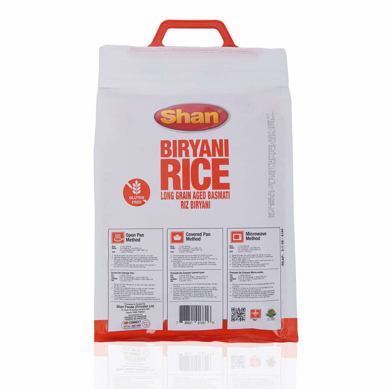 Shan Biryani Basmati Rice - Ingredients