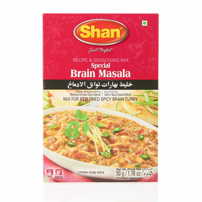 Shan Brain Masala Recipe - Front