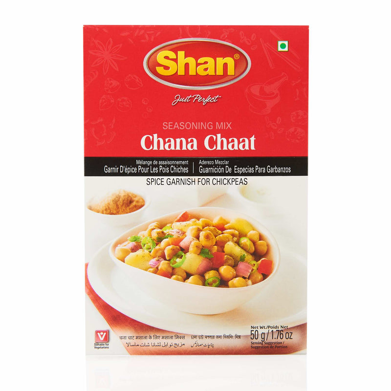 Shan Chana Chaat Mix - Front