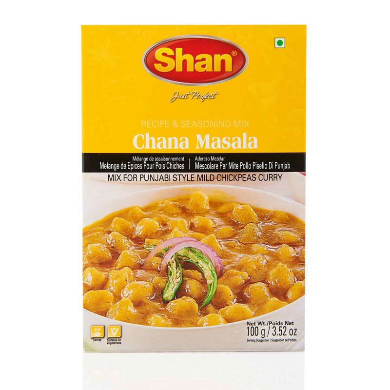 Shan Chana Masala Recipe Mix - Front