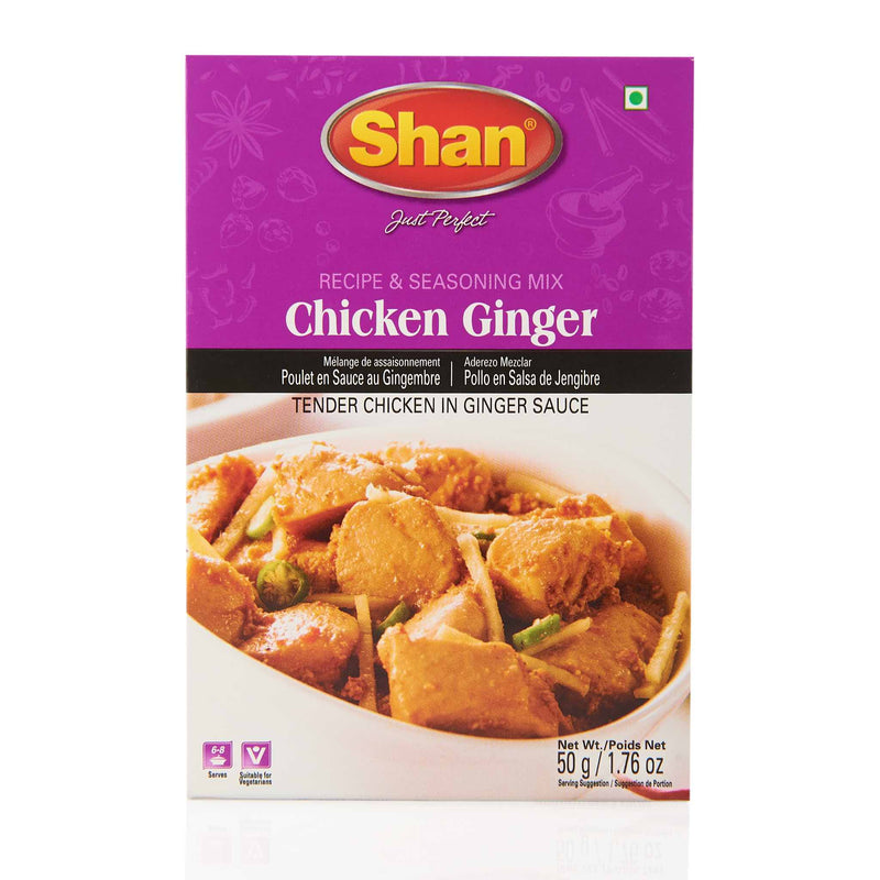 Shan Chicken Ginger Recipe - Front