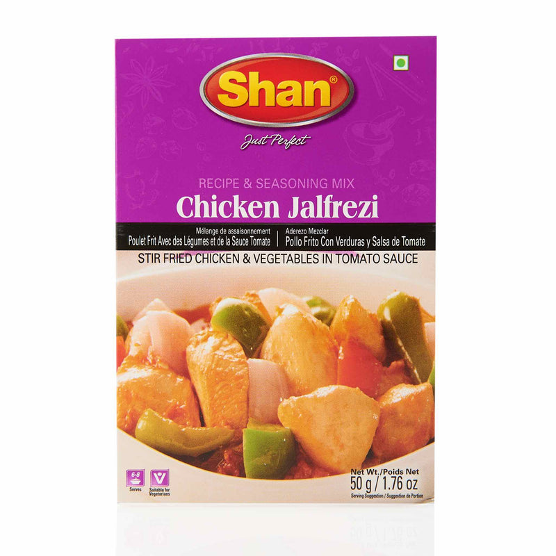 Shan Chicken Jalfrezi Recipe - Front