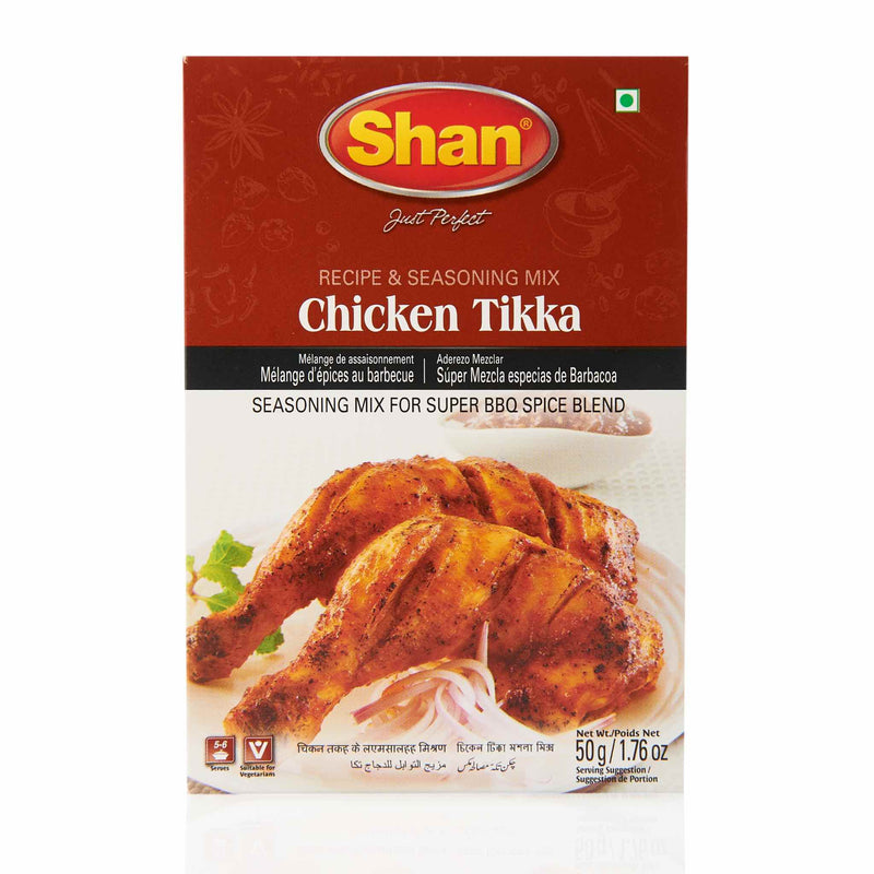 Shan Chicken Tikka Recipe Mix - Front