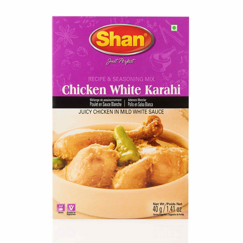 Shan Chicken White Karahi Recipe - Front