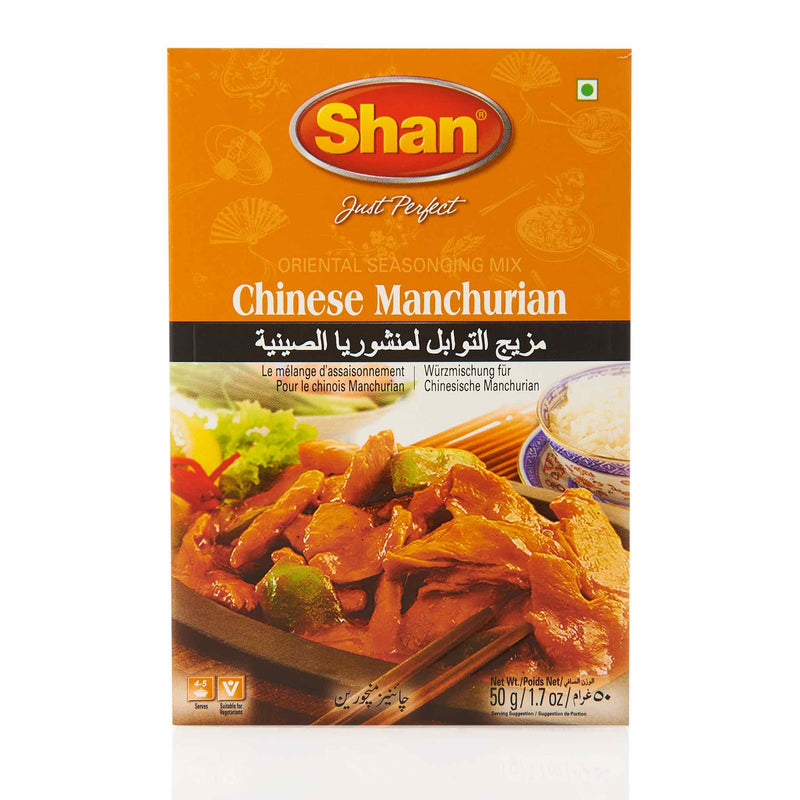 Shan Chinese Manchurian Recipe Mix - Front