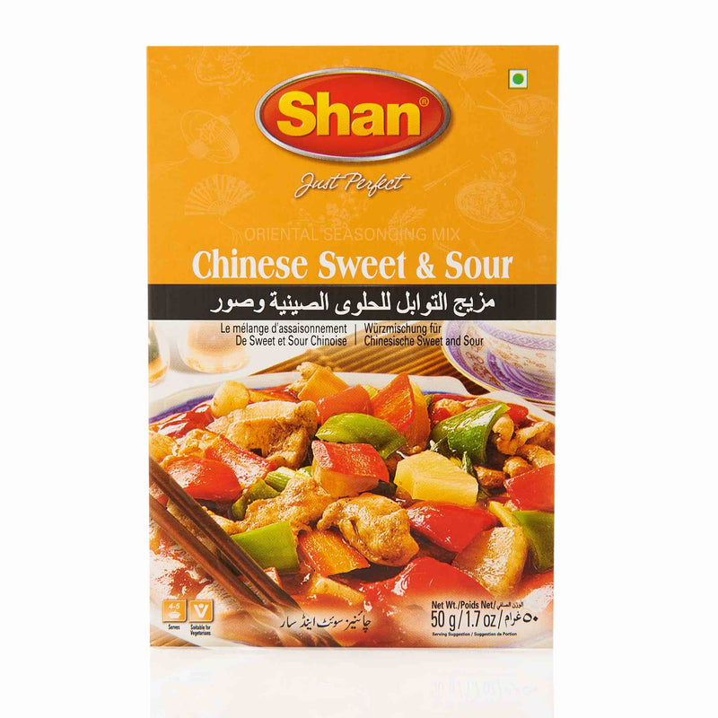 Shan Chinese Sweet & Sour Recipe Mix - Front