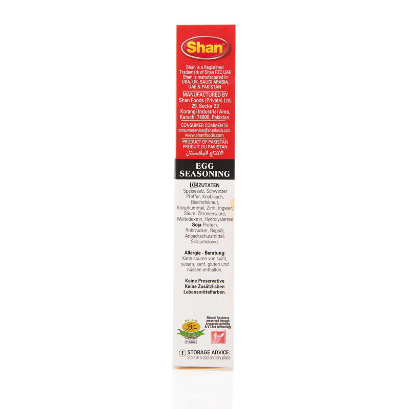 Shan Egg Seasoning Mix - Ingredients
