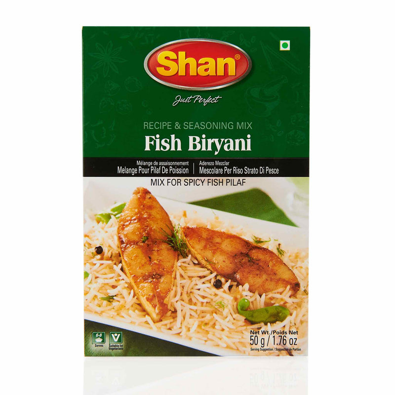 Shan Fish Biryani Recipe Mix - Front