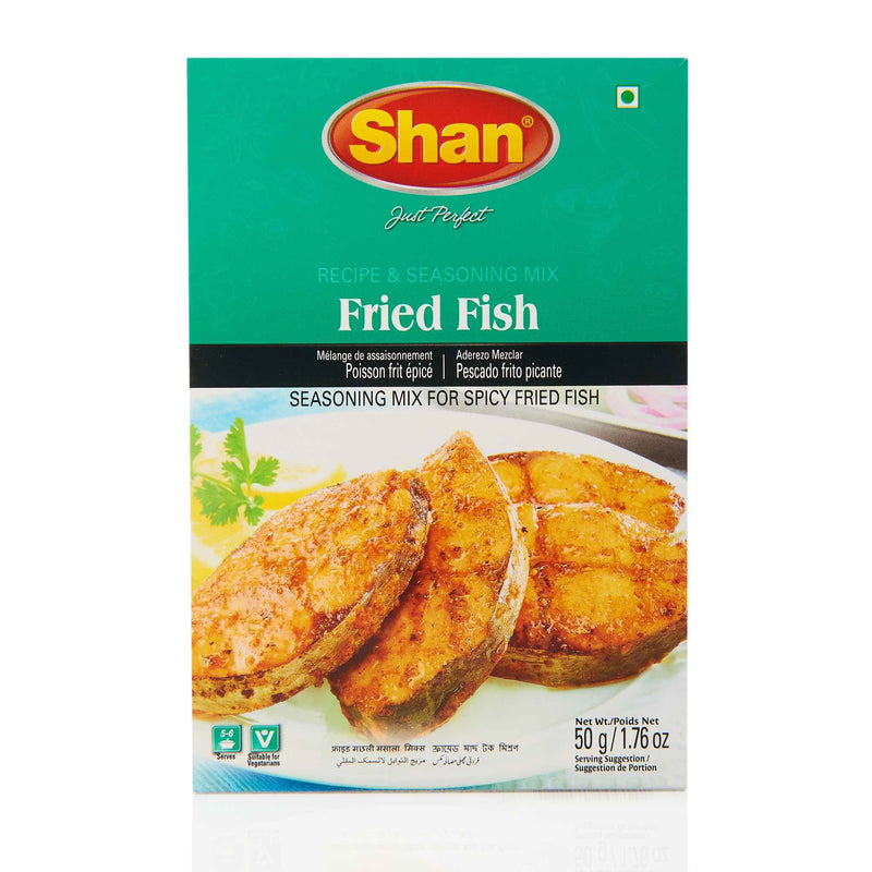 Shan Fried Fish Recipe Mix - Front