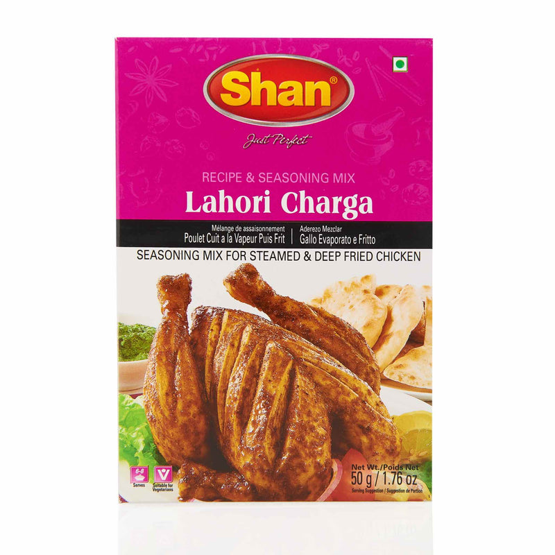 Shan Lahori Charga Recipe Mix - Front