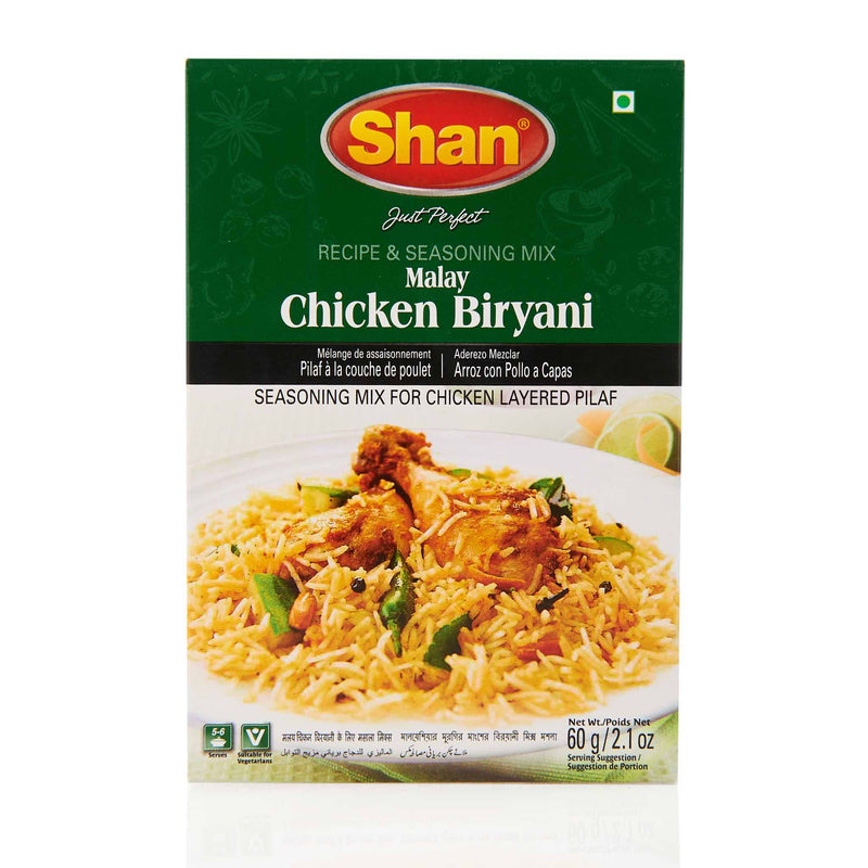 Shan Malay Chicken Biryani Recipe Mix - Front