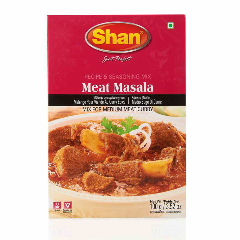 Shan Meat Masala Recipe - Front