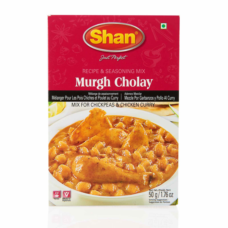Shan Murgh Cholay Recipe - Front