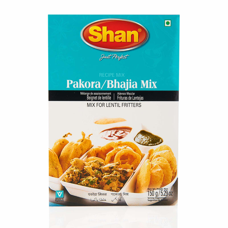 Shan Pakora Bhajia Recipe Mix - Front