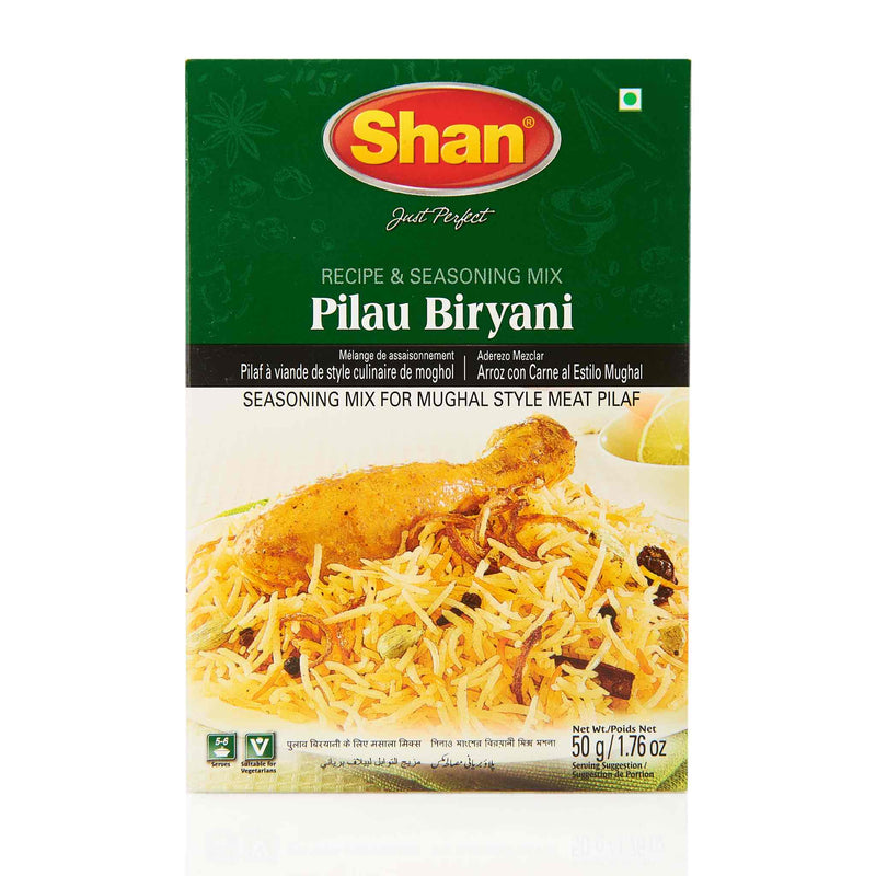 Shan Pilau Biryani Recipe Mix - Front