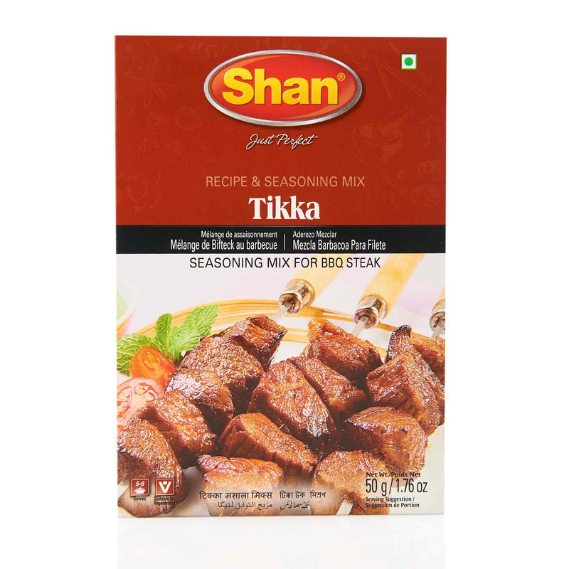 Shan Meat Tikka Recipe Mix - Front
