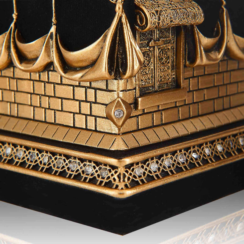 Table Art Kaaba Cube - Detail