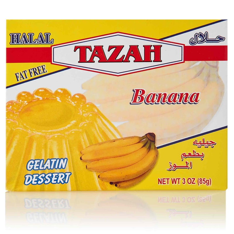 Tazah Banana Jelly - Front