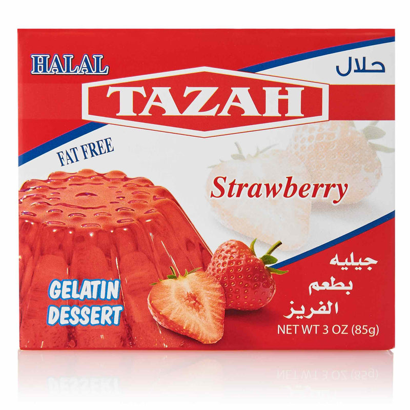 Tazah Strawberry Jelly - Front
