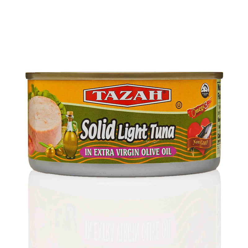 Tazah Solid Light Tuna in Extra Virgin Olive Oil