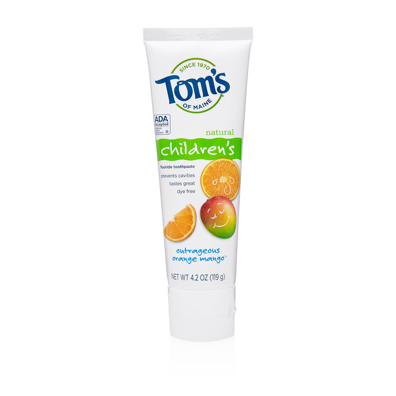 Toms Children Toothpaste - Orange Mango
