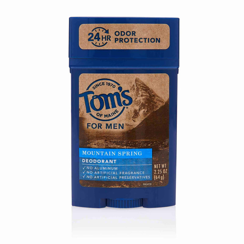 Toms of Maine Halal Men Deodorant Mountain Spring