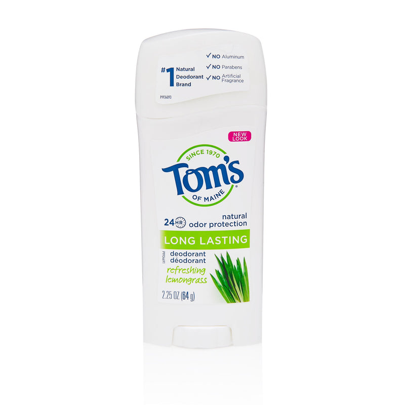 Toms of Maine Women Deodorant Lemongrass