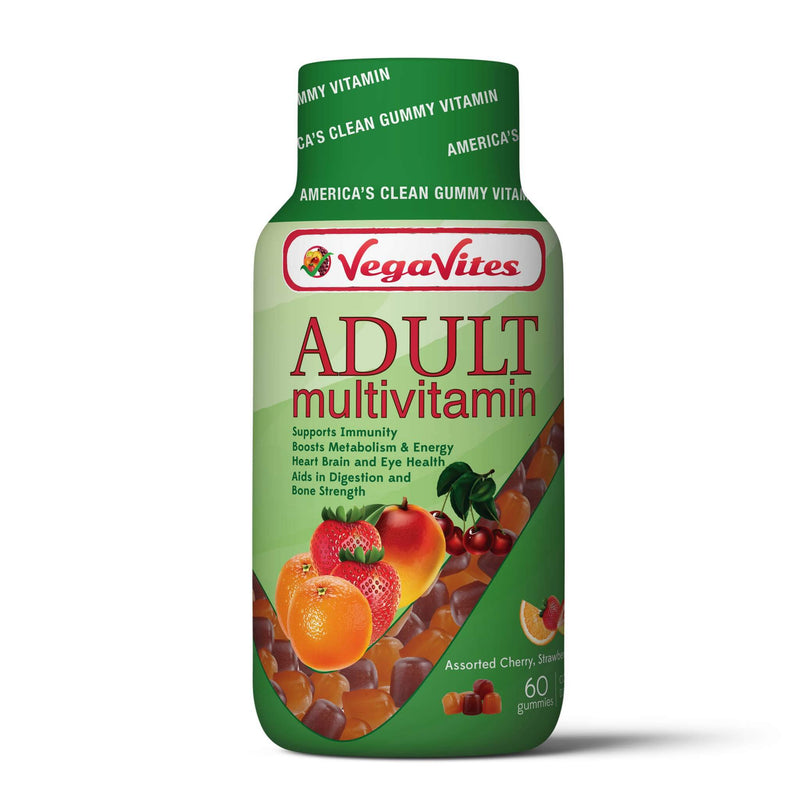 Vegavites Vegetarian Adult Multivitamin Gummies - Front