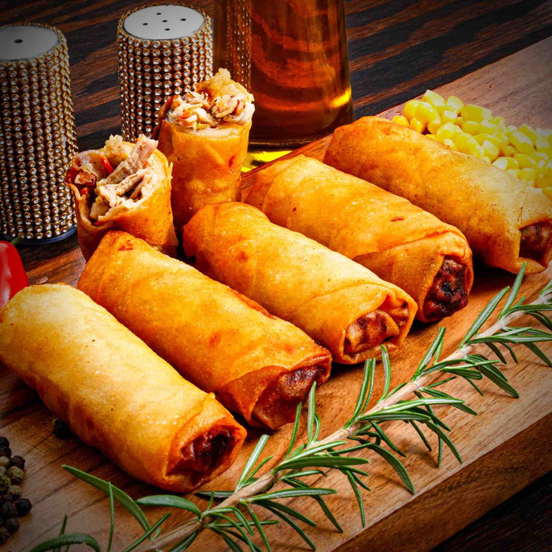 Zabiha Halal Chicken Egg Roll - 5