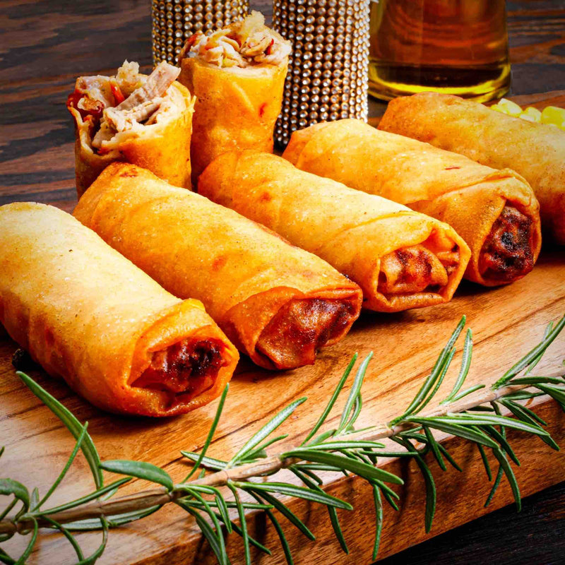 Zabiha Halal Chicken Egg Roll - 1