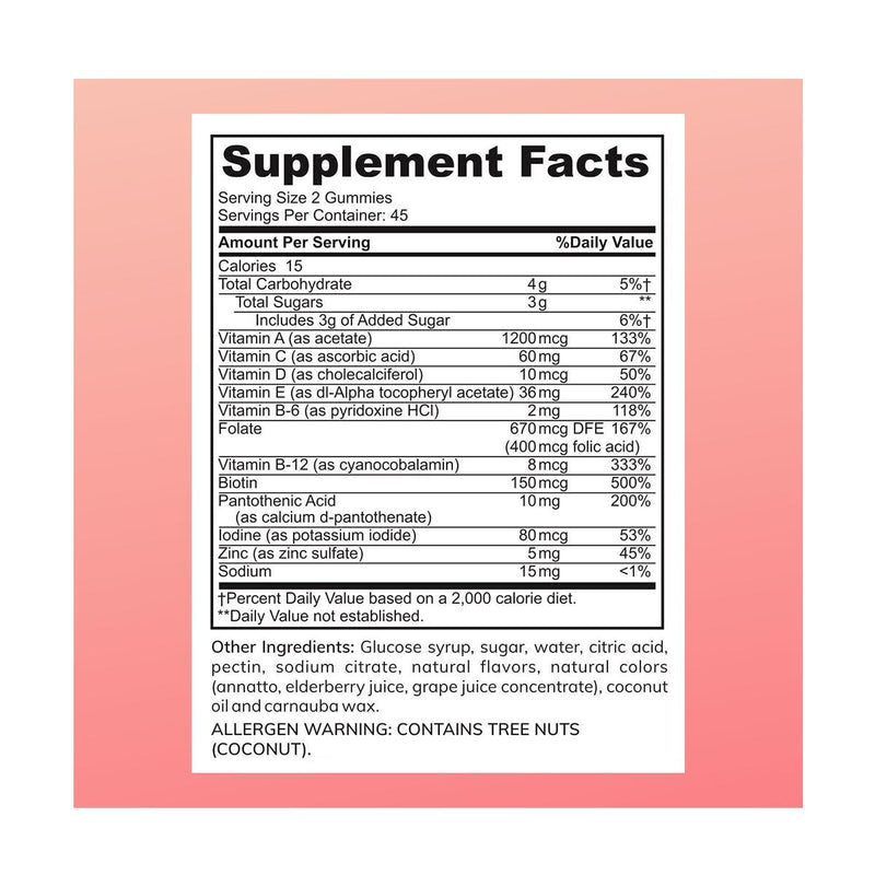 Zaytun Vitamins Adult Multivitamin Gummies - 2