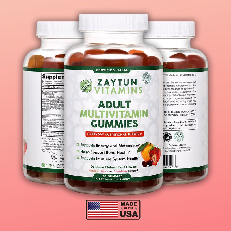 Zaytun Vitamins Adult Multivitamin Gummies - 5